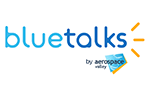 Logo BlueTalks by Aerospace Valley