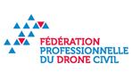 Logo Fédération Professsionnelle du Drone Civil