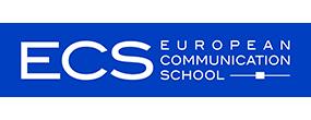Logo European Communication School (ECS)